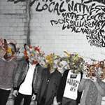 LOCAL NATIVES. Gorilla manor, n68 Popout de 2010