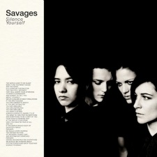 SAVAGES. Silence Yourself, nº78 Popout de 2013