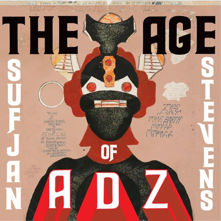SUFJAN STEVENS. The age of Adz, n3 Popout de 2010