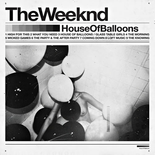 THE WEEKND. House of balloons, nº6 Popout de 2011